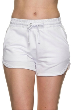 Minx White Dolphin Shorts - Product List Image