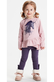 Minymo Leggings with Glitter - Product Mini Image