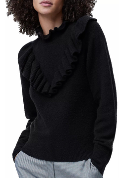 Shoptiques Product: Mira Flossy Ruffle Detail Sweater