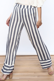 Miracle Berry Patio Stripe Pants - Product Mini Image