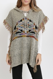 Miracle Boho Style Poncho - Back cropped