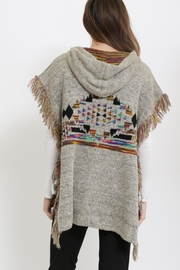 Miracle Boho Style Poncho - Side cropped
