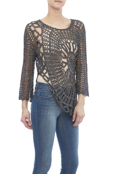 Shoptiques Product: Crochet Flower Top
