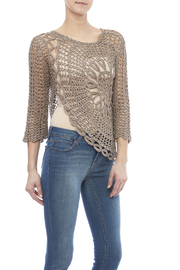Miracle City Crochet Flower Top - Product Mini Image