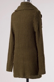 Miracle Cowl Neck Sweater - Side cropped