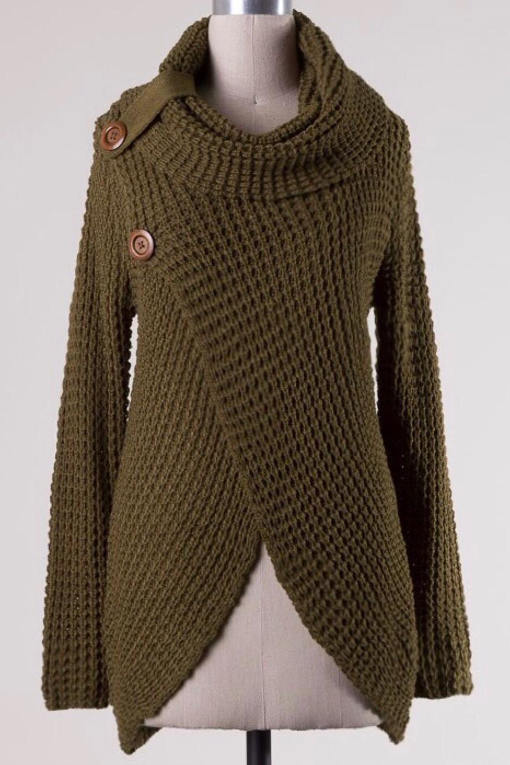 Miracle Cowl Neck Sweater - Main Image