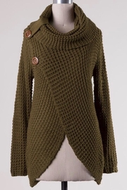 Miracle Cowl Neck Sweater - Front cropped