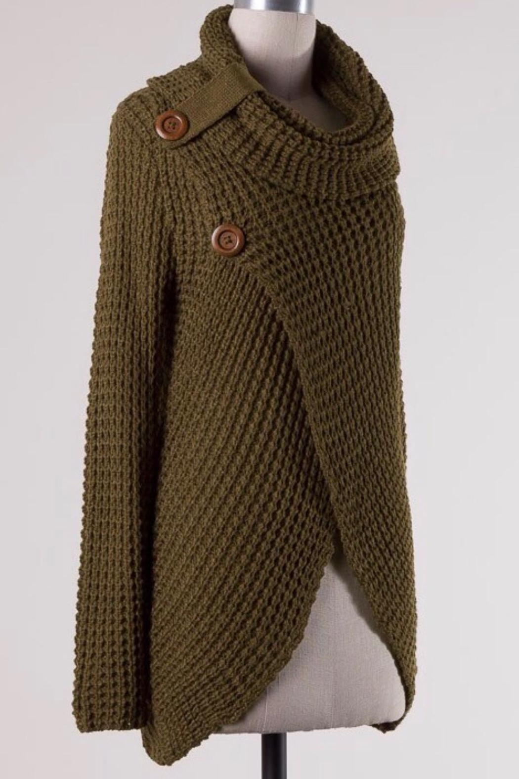 Miracle Cowl Neck Sweater - Front Full Image