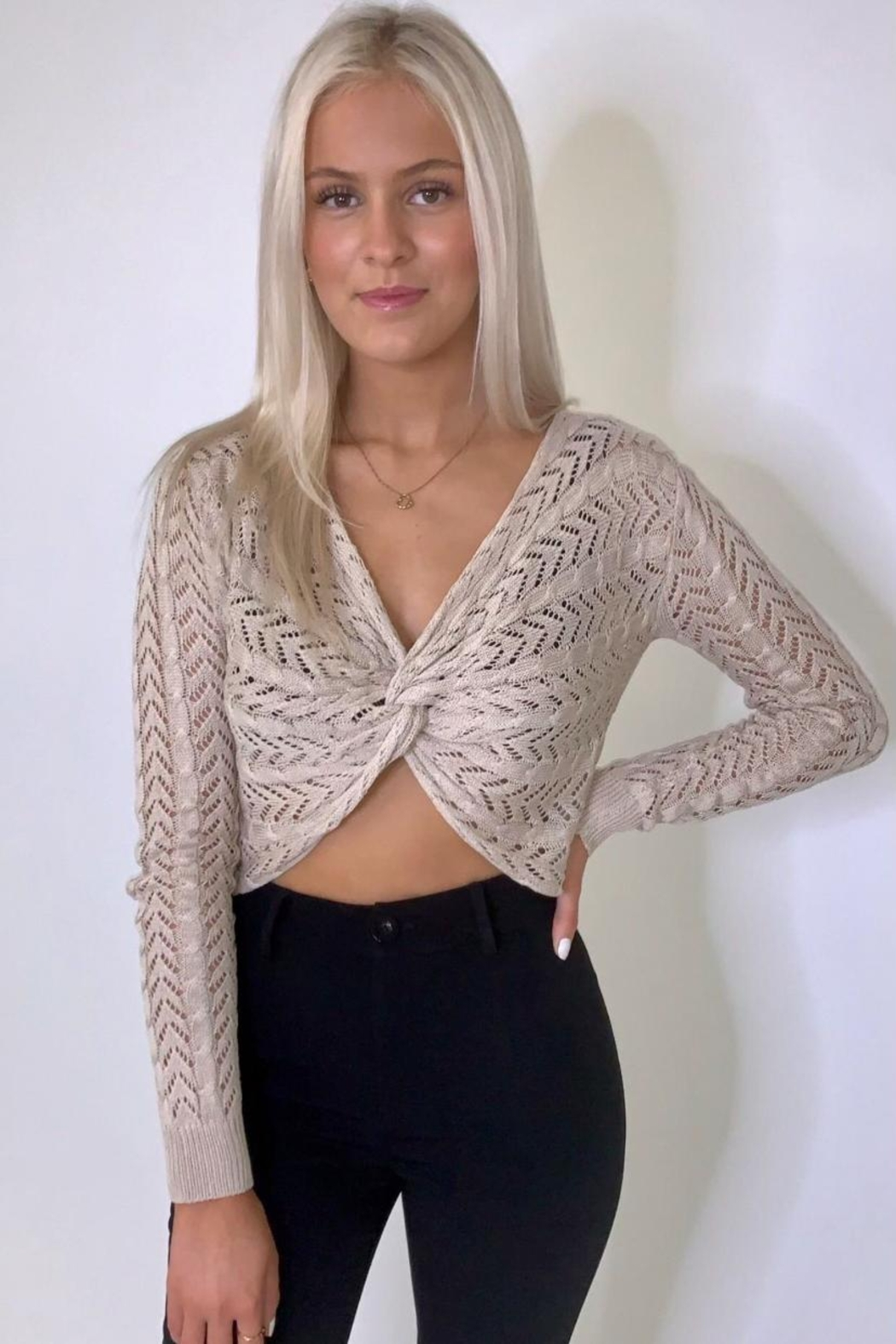Miracle Front Twist Top - Main Image