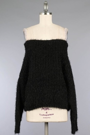 Miracle Fuzzy Black Off-Shoulder - Product Mini Image