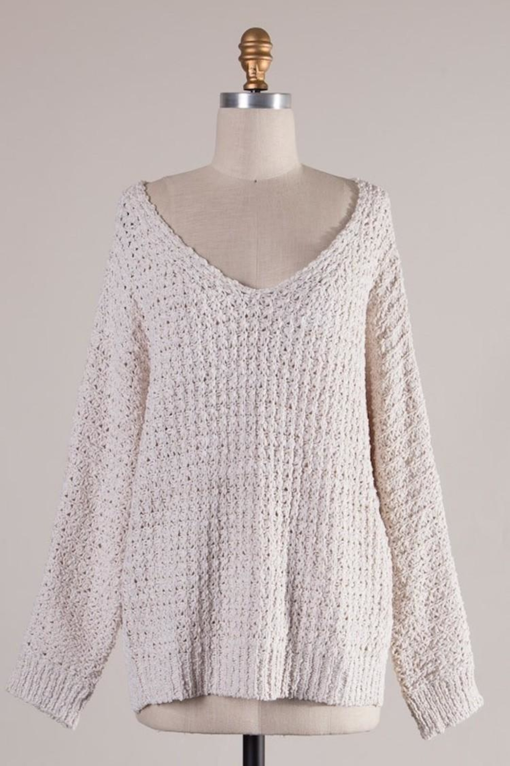 Miracle Ivory Comfy Sweater - Main Image