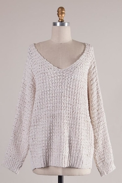 Miracle Ivory Comfy Sweater - Alternate List Image