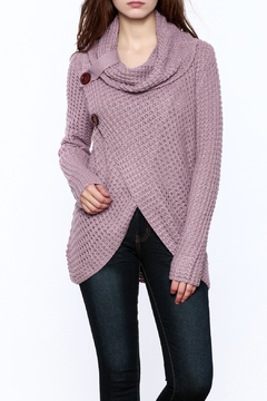 Shoptiques Product: Knit Wrap Button Sweater