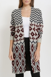 Miracle Long Cardigan Sweater - Product Mini Image