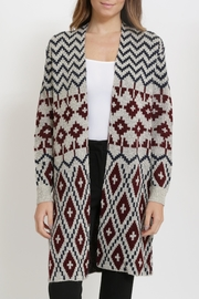 Miracle Long Cardigan Sweater - Side cropped
