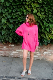 Miracle Neon Cowel Neck Tunic - Product Mini Image