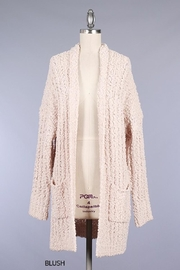 Miracle Pocket Cardigan Blush - Product Mini Image