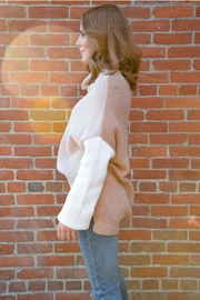 Miracle Three Block Sweater - Front full body