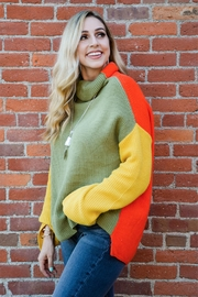Miracle Three Block Sweater - Other