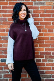 Miracle Three Block Sweater - Front cropped