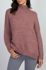Miracle Turtle-Neck Braided Knit Sweater - Product Mini Image