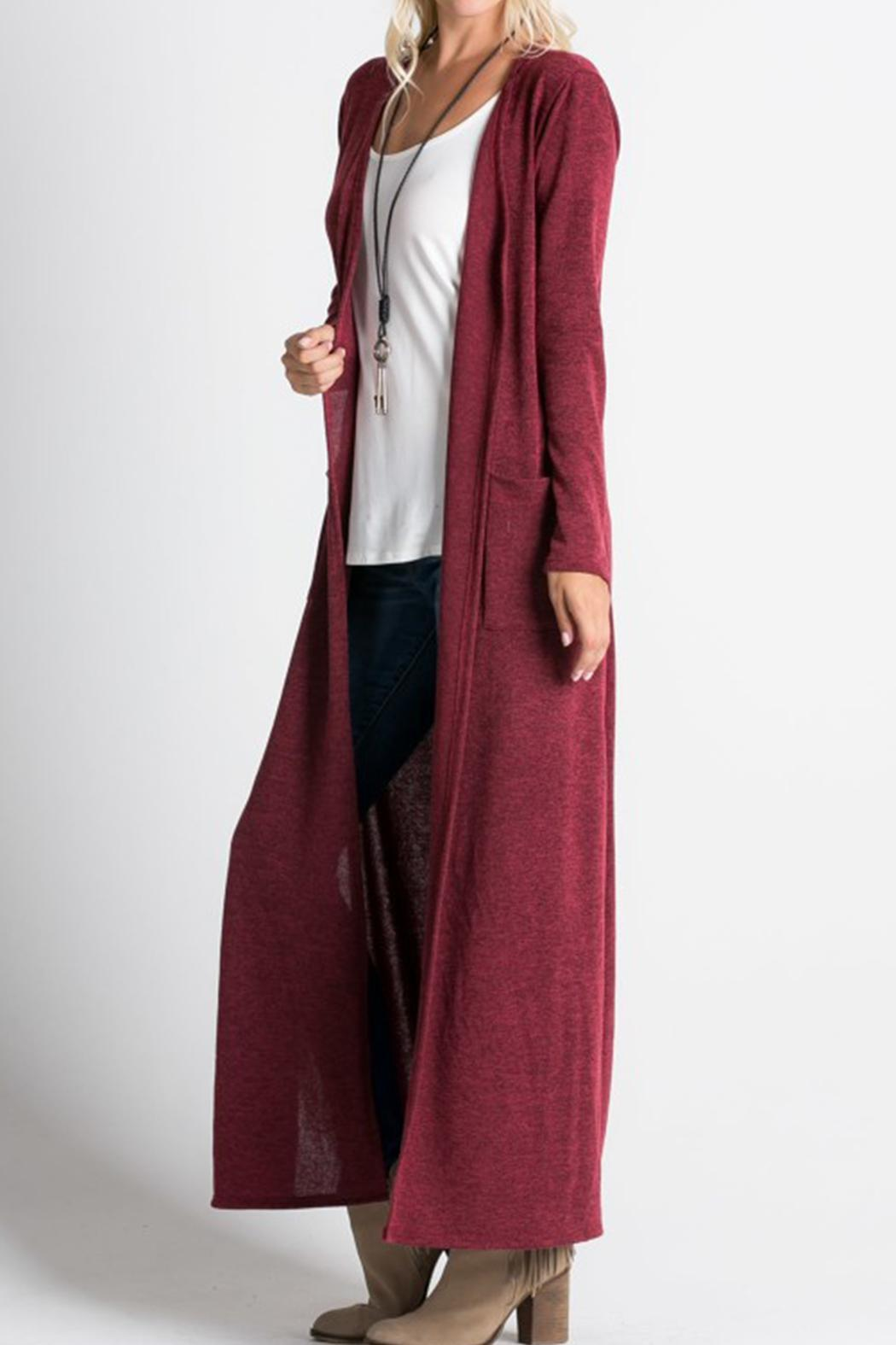 Miracle Berry Burgundy Duster from Nebraska by Dream Boutique ...