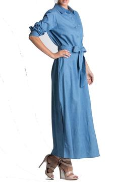 Miracle Berry Denim Maxi Dress - Product List Image