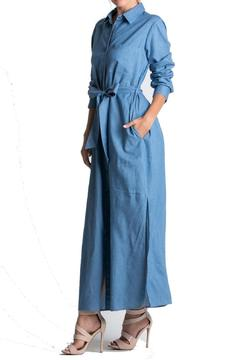 Miracle Berry Denim Maxi Dress - Alternate List Image
