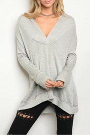 Miracle Berry Gray Tunic - Front cropped