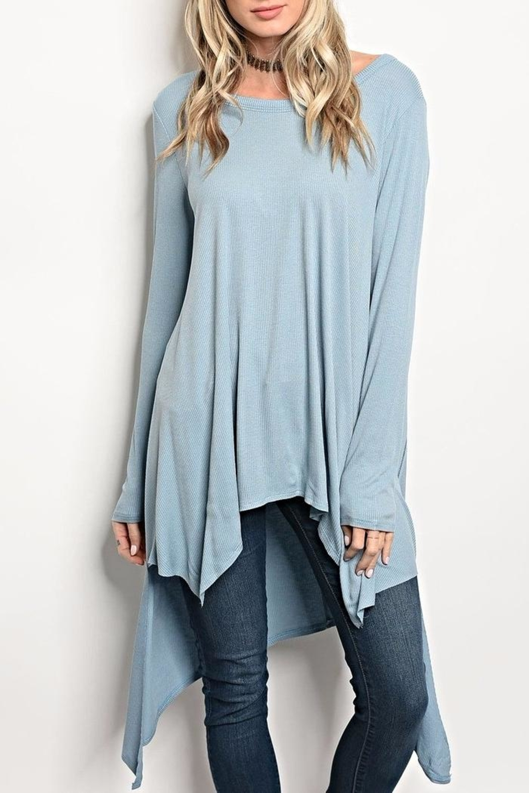 Miracle City Light Blue Tunic - Main Image