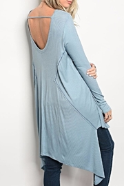 Miracle City Light Blue Tunic - Other
