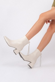 miracle miles  Kadee Square-Toe Bootie - Front cropped