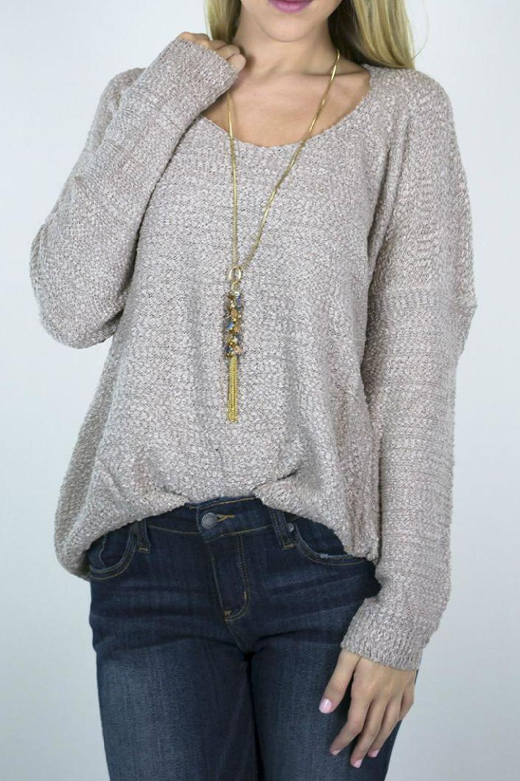 a67dea8017 Miracle USA Hang Out Sweater from Arkansas by Siloe — Shoptiques