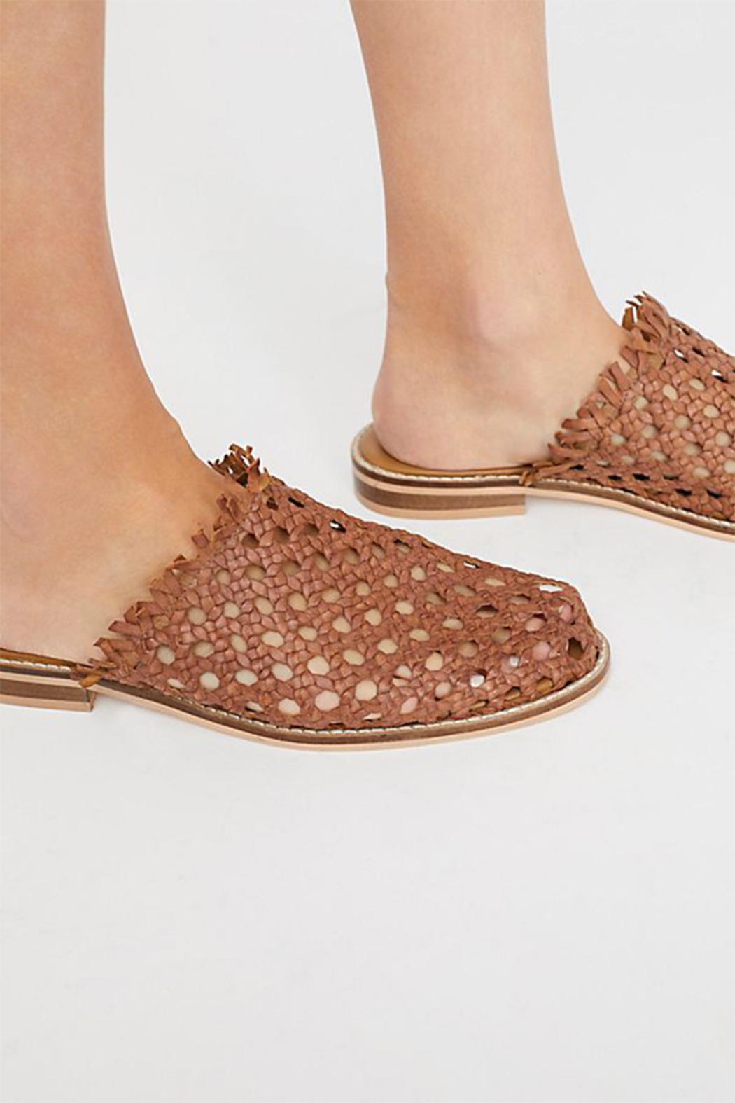 Free People Mirage Woven Flat - Side Cropped Image