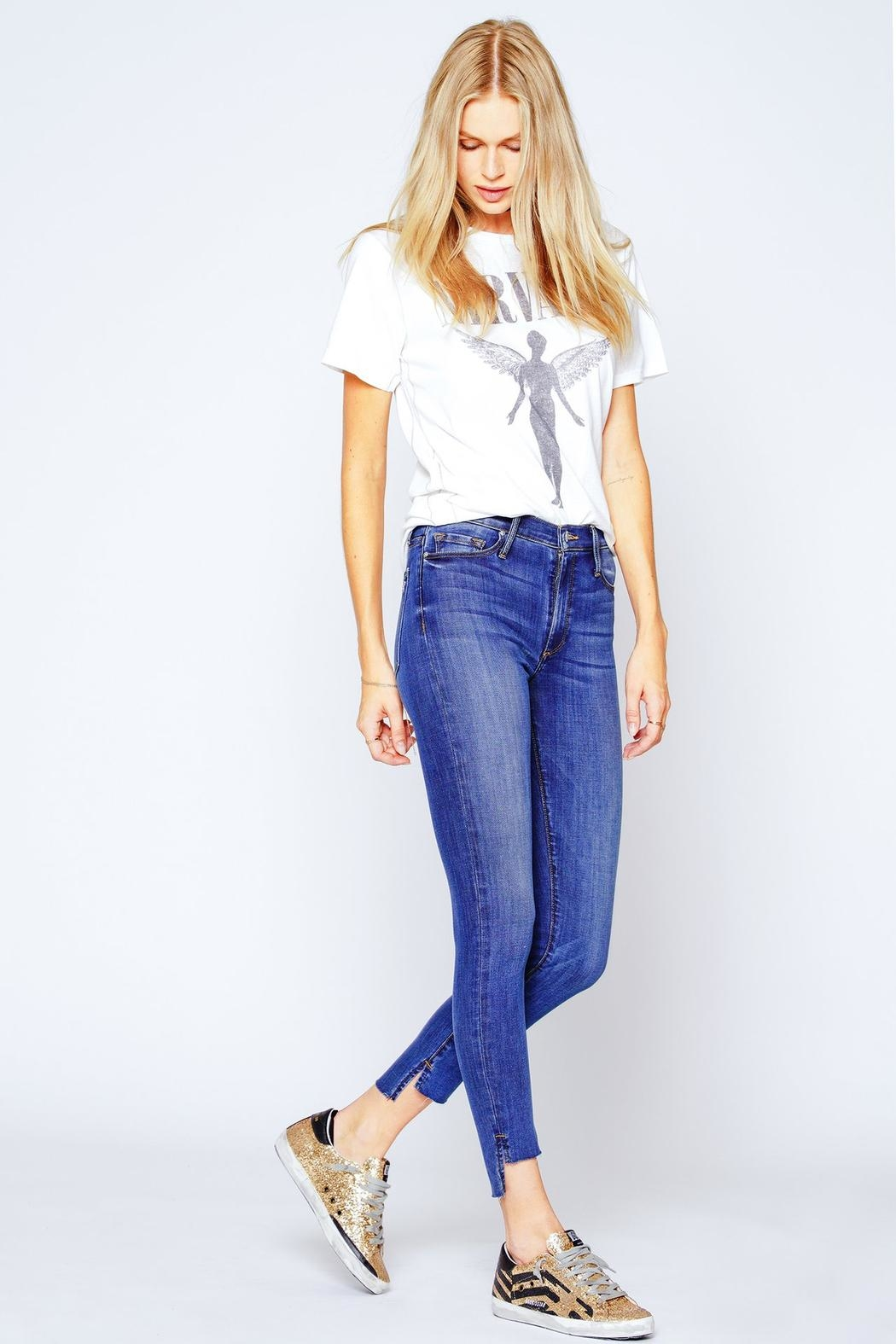 Black Orchid Denim Miranda Off-Step High-Rise-Skinny - Main Image