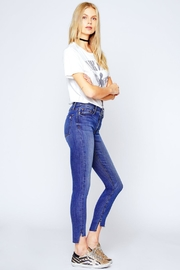 Black Orchid Denim Miranda Off-Step High-Rise-Skinny - Back cropped