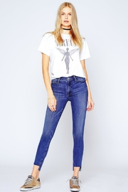 Black Orchid Denim Miranda Off-Step High-Rise-Skinny - Front full body