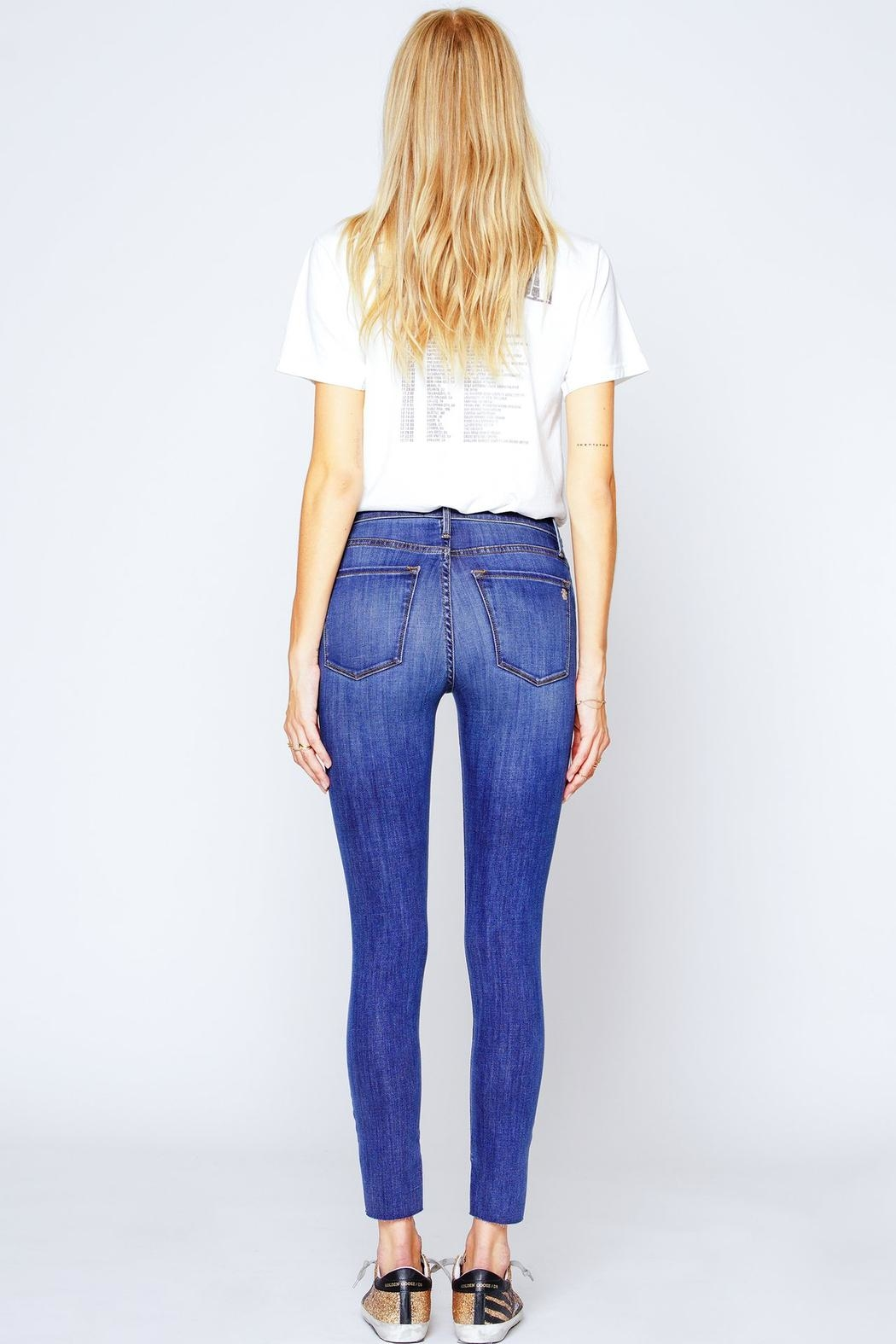Black Orchid Denim Miranda Off-Step High-Rise-Skinny - Side Cropped Image