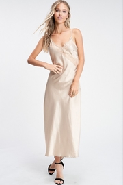 crescent Miranda Satin Dress - Product Mini Image