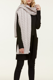 Soia & Kyo MIRI CABLE KNIT SCARF - Product Mini Image