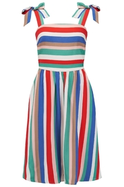 Sugarhill Boutique Miriam Stripe Dress - Product Mini Image