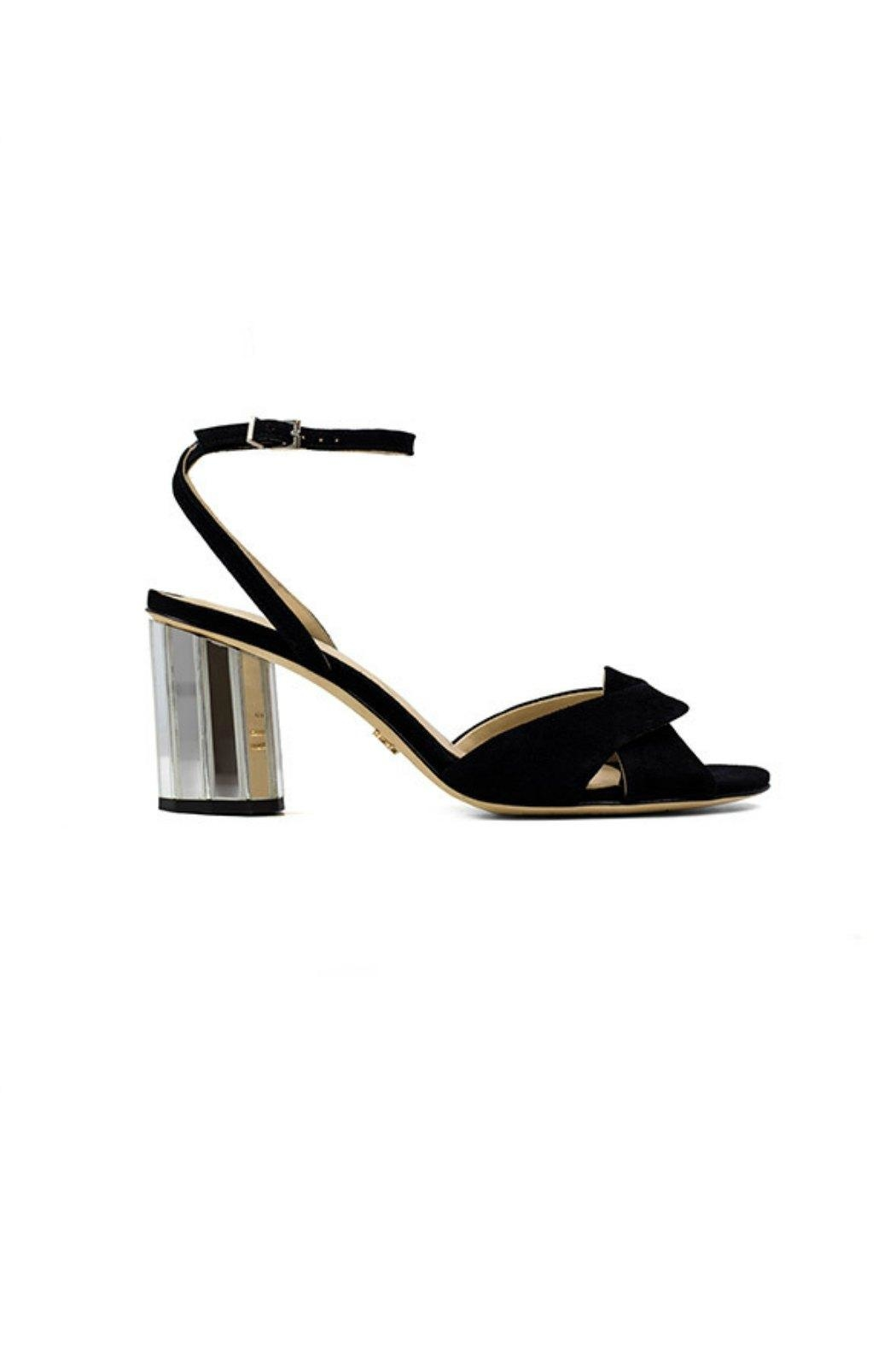 Lola Cruz Mirror Heel Sandals - Main Image