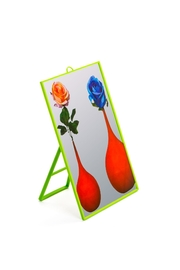 Seletti Mirror Small Flowers - Front full body