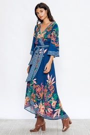 A. Calin Floral Maxi Dress - Side cropped