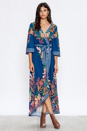 A. Calin Floral Maxi Dress - Product Mini Image