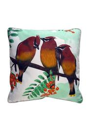 Mirthquake Throw Pillow: Cedar-Waxwing - Product Mini Image