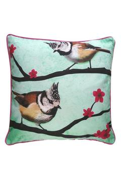 Shoptiques Product: Throw Pillow: Crested-Titmouse