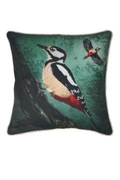Shoptiques Product: Throw Pillow: Woodpecker