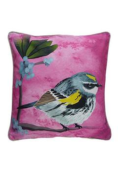Shoptiques Product: Yellow Rumped Warbler Pillow