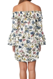 Misa Amal Floral Dress - Back cropped